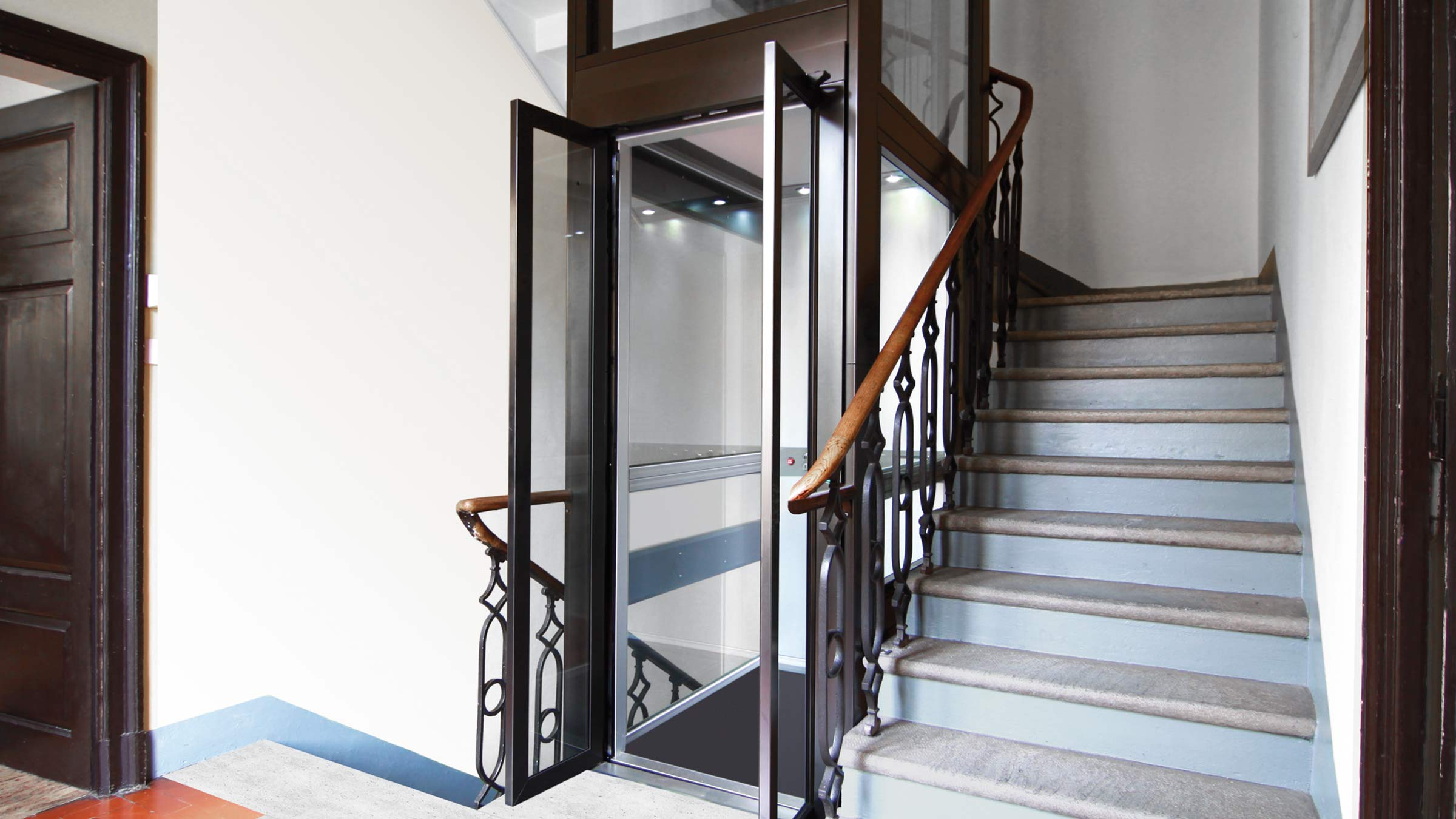Costo Ascensore Interno 3 Piani prezzi mini ascensori interni/esterni domestici ~ kone motus