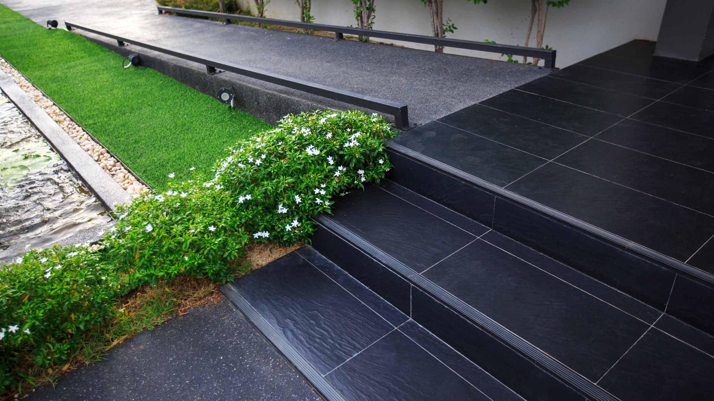 Esempio di barriera architettonica - Gradini