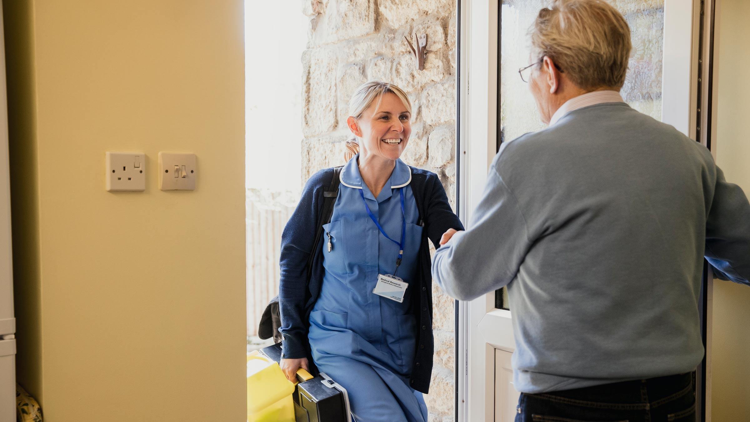 L'infermiere di comunità al lavoro