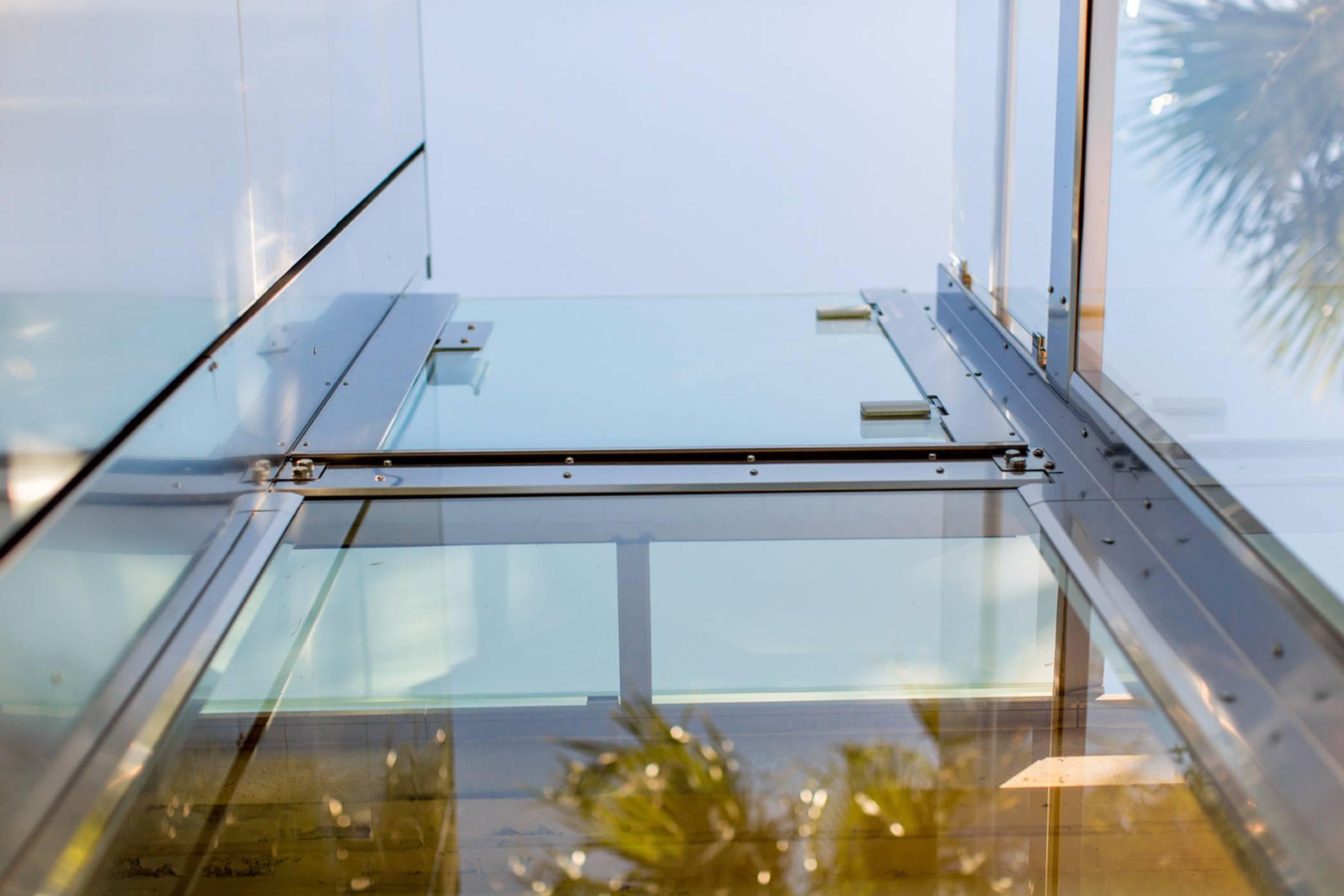 Parete Ferro E Vetro ascensori in vetro per esterni e interni ~ kone motus