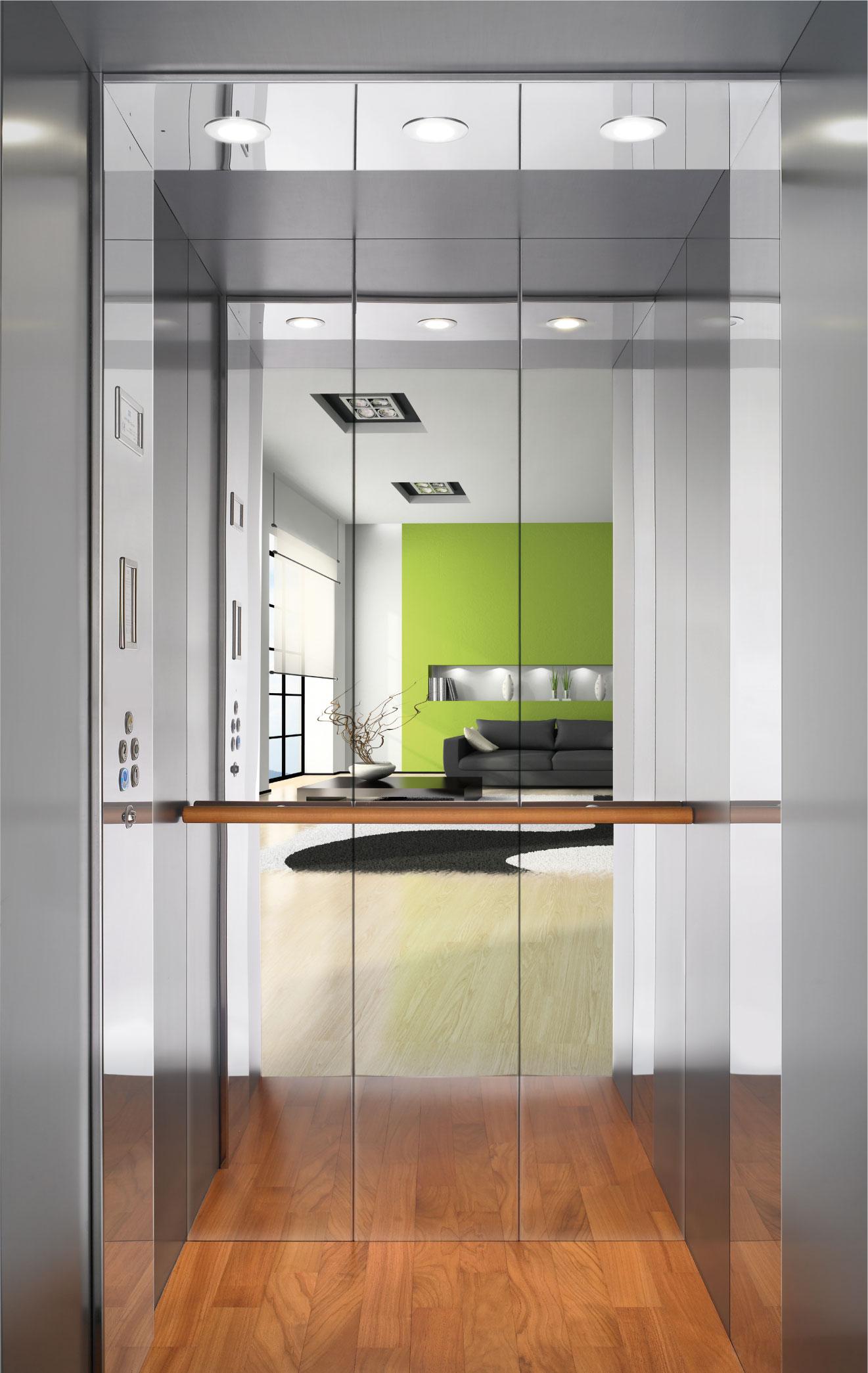 Ascensore in casa privata per appartamento senza scale for Design dello spazio esterno