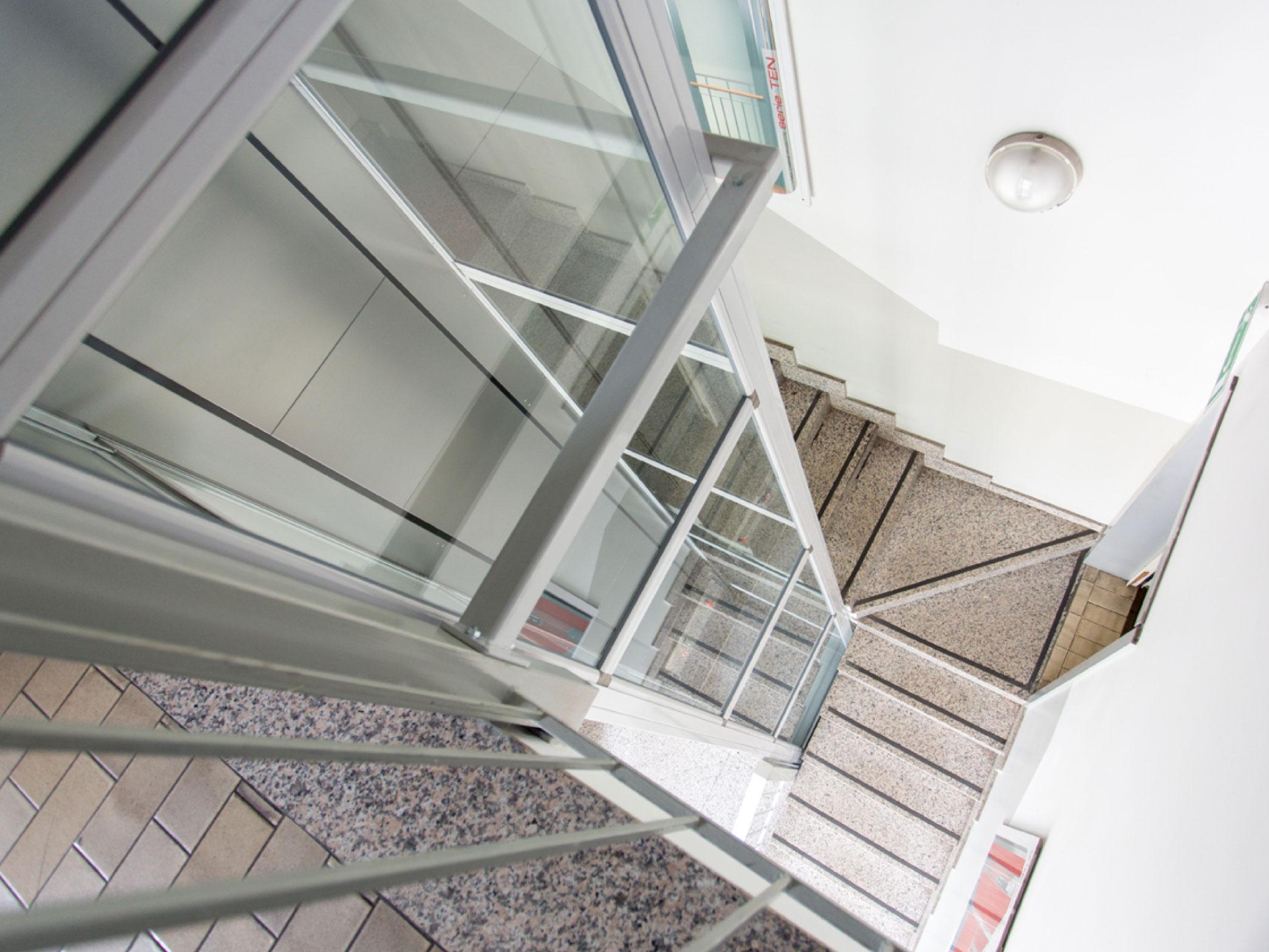 KONE Dinamico: piattaforma elevatrice per interni